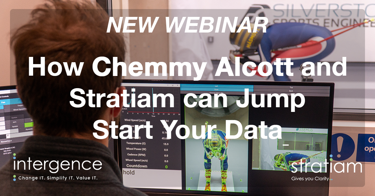 How Chemmy Alcott And Stratiam® Can Jump Start Your Data