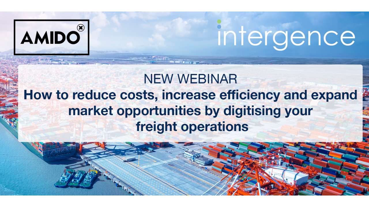 How to reduce costs, increase efficiency and expand market opportunities by digitising your freight